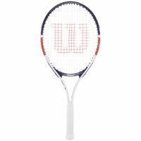 Rachete tenis Wilson Roland Garros Elite 25 CVR 25 alb - bleumarin-rosu WR038710H pentru copii