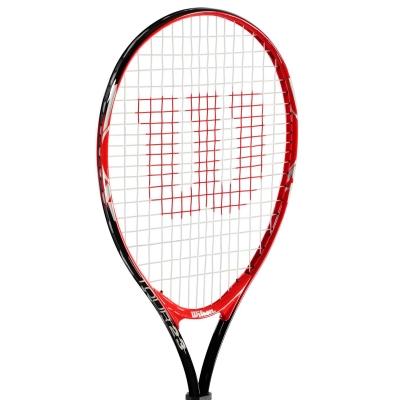 Rachete tenis Wilson Tour pentru copii negru rosu