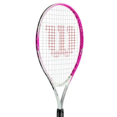Rachete tenis Wilson Tour pentru copii roz alb