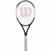 Racket For tenis Wilson Roland Garros Equipe HP RKT 4 alb-bleumarin WR030410U4