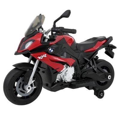Rastar BMW Motorcycle 6V Ride on Bike rosu