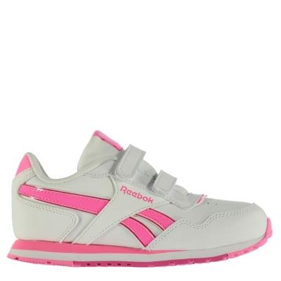 Reebok clasic Glide Shoes pentru fete alb roz