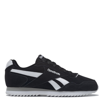 Reebok Royal Glide Ripple Shoes pentru Barbati negru alb gri