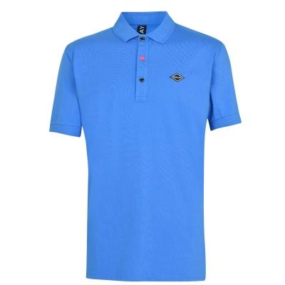 Replay Logo Collar Shirt albastru roial