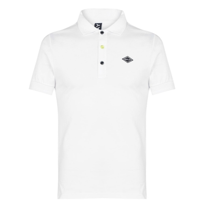 Replay Logo Collar Shirt off alb