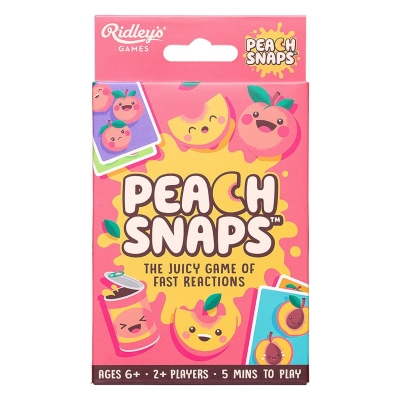 Ridleys Peach Snaps in Box in CDU of 12 multicolor