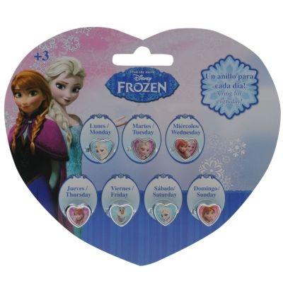 Frozen Ring Set pentru Copii cu personaje