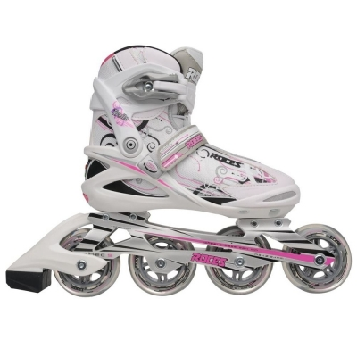 Roces Trails Inline Skates pentru Femei alb roz