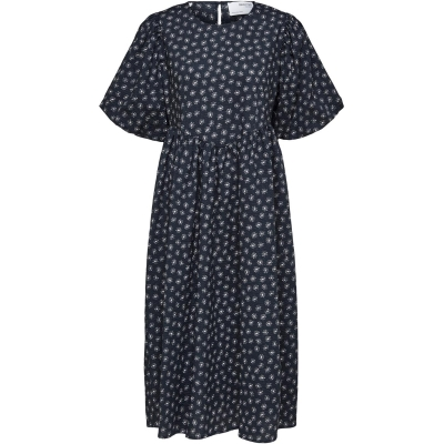 Rochie Selected Femme Selected 2/4 Mid Ld14 albastru
