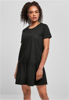 Rochie tricou Valance pentru Femei negru Urban Classics