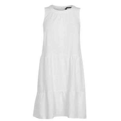 Rochie Vero Moda Woven pentru Femei snow alb