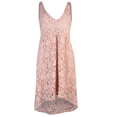 Rochie Vila Vila Vikellie pentru femei roz gri