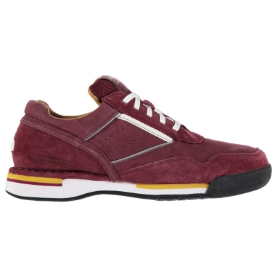 Rockport Rockport 7100 ProWalker Limited Edition Shoes pentru Barbati rosu burgundy piele intoarsa