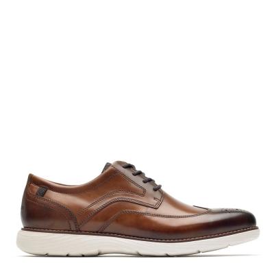 Rockport Rockport Garett Wingtip Oxford Shoes maro