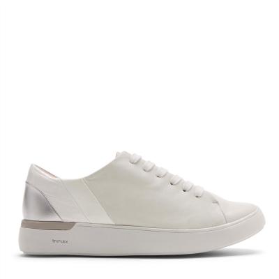 Rockport Rockport din piele Sneakers pentru Femei alb