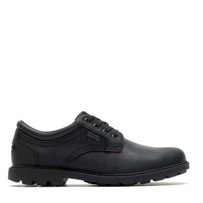 Rockport Rockport Storm Surge Plain Toe Oxford Shoes negru