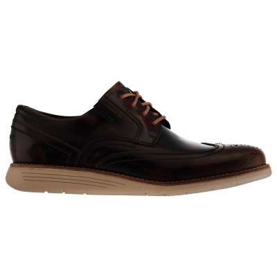 Rockport Rockport Wingtip Shoes pentru Barbati inchis maro box