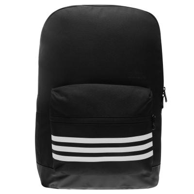 Rucsac adidas 3 cu dungi Versatile negru alb