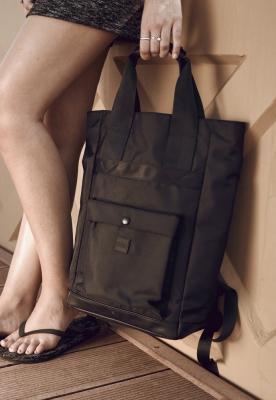 Rucsac Carry Handle negru Urban Classics