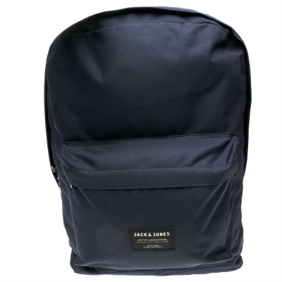 Rucsac Jack and Jones Basic Logo bleumarin mel