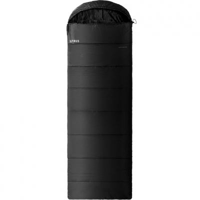 Sac de Dormit Alpinus clasic Warm 1200 215x80cm negru DN43533