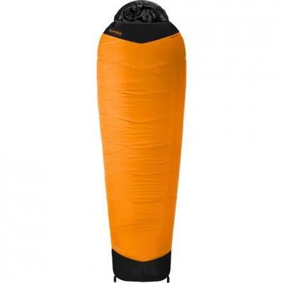Sac de Dormit Food Alpinus Fiber Pro 1300 215x75x50cm portocaliu portocaliu-negru DN43536