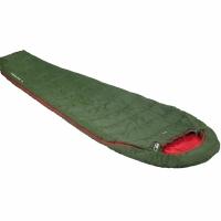 Sac de Dormit High Peak Lite Pak Easy 1000 220x80x50 verde-rosu Left 23248