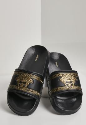 Sace Fun Slides negru-auriu Schlappos