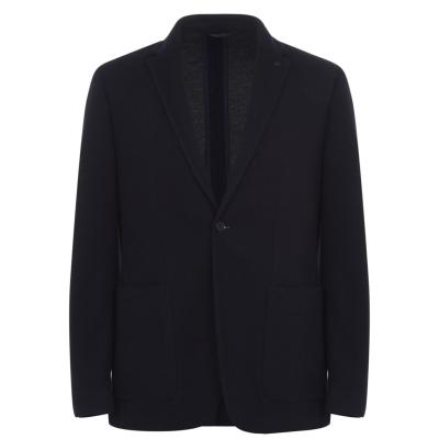 Sacou Calvin Klein cu dungi Jersey bleumarin dw4