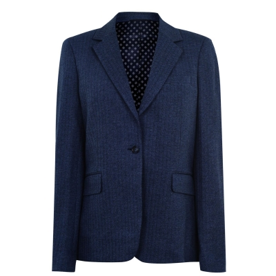 Sacou Gant Gant Jersey albastru