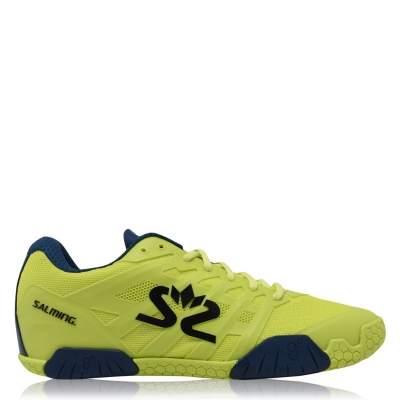 Adidasi pentru sala Salming Hawk verde bleumarin