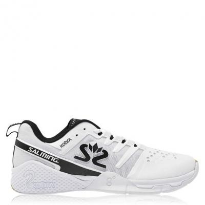Adidasi sport Salming Kobra 3 Indoor Squash pentru Barbati alb negru