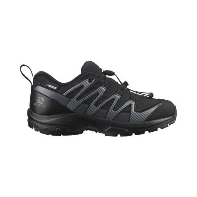 Salomon Pantofi Alergare Copii XA PRO V8 CSWP J Negru