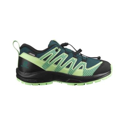 Salomon Pantofi Alergare Copii XA PRO V8 CSWP J Verde
