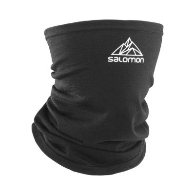 Salomon Protectie Multifunctionala Alergare Unisex MTN TOUR2COOL WOOL U Black/White (Negru)