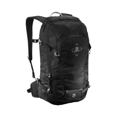 Salomon Rucsac Ski Unisex BAG SIDE 25 - FLAT CAMO BLACK EBONY (Gri)