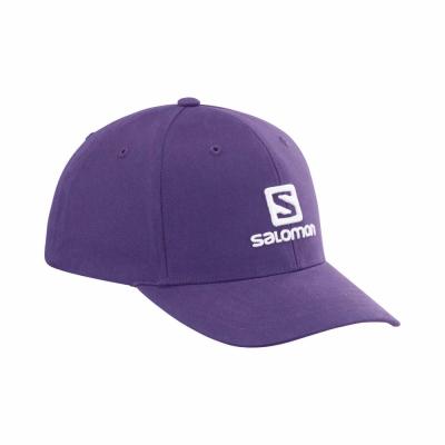 Salomon Sapca Activitati urbane Unisex SALOMON LOGO CAP GRAPE (Mov)