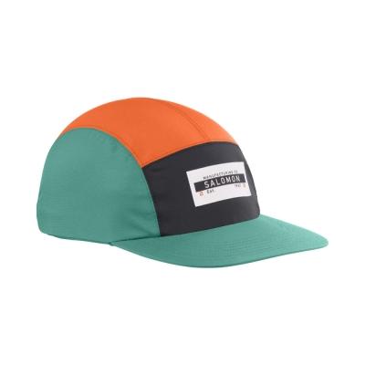 Salomon Sapca Alergare Unisex BONATTI WP FIVE P CAP Red Orange/Bk (Verde)