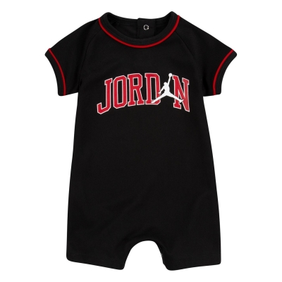 Salopeta Air Jordan JM Suit pentru baieti pentru Bebelusi negru rosu