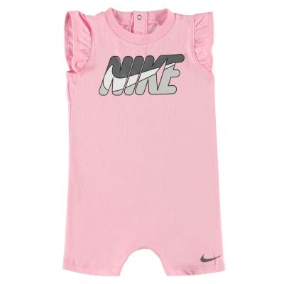 Salopeta Nike Logo pentru fete pentru Bebelusi roz