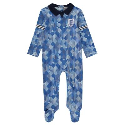 Salopeta pijama Brecrest Anglia 90 Babies albastru