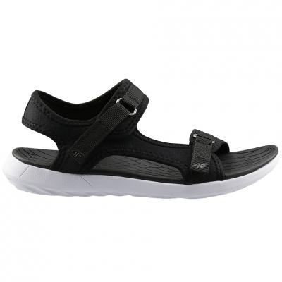 Sandale 4F negru H4L20 SAD001 21S pentru femei