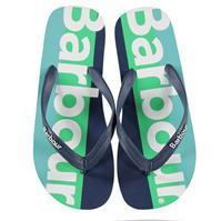 Sandale Barbour B. Li cu dungi Sn02 albastru verde bl15