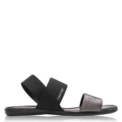 Sandale Calvin Klein Elasticated negru