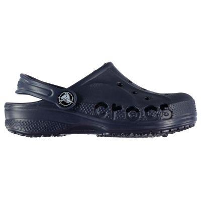 Sandale Crocs Baya pentru Bebelusi bleumarin