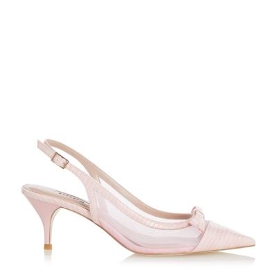 Sandale Dune London Celeste Heeled roz rep228