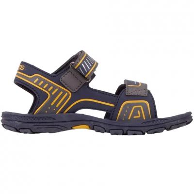Sandale For Kappa Paxos bleumarin-portocaliu 260864K 6744 pentru Copii