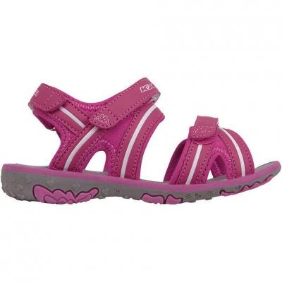 Sandale Kappa Breezy II K Footwear For roz-alb 260679K 2210 pentru Copii