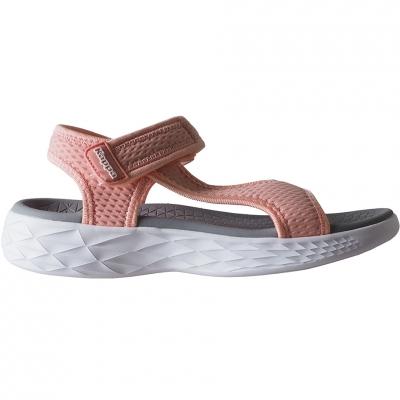 Sandale Kappa Vedity II roz-gri-alb 242811 2110 femei
