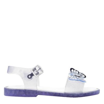 Sandale Mini Melissa Butterfly transparent